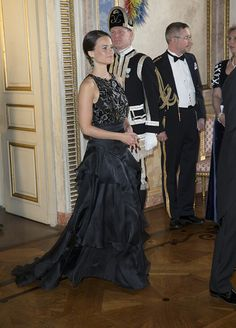 Sofia Hellqvist June 1, 2015  India's State Dinner Gala In Sweden