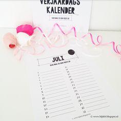 Hallo allemaal, Het was al vaker aan mij gevraagd of ik ook een keer een leuke Verjaardags kalender kon maken. Ik was er al een...