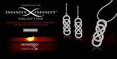 "INFINITY X INFINITY Collection TV Show ""Revenge"" Inspired Diamond Jewelry From Helzberg Diamonds"