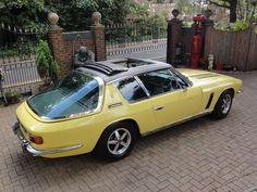 Classic European Cars, Bmw Classic Cars, Retro Cars, Vintage Cars, Jensen Interceptor, Living In Car, Automobile, British Sports Cars, Car In The World
