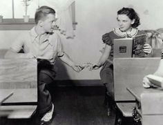 """1937 - """"Thouroghbreds Don't Cry"""" - Mickey Rooney and Judy Garland"""