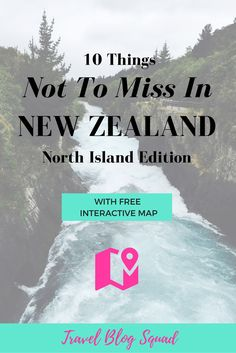 10 Things Not To Miss In New Zealand - North Island Edition. Ever dreamt of exploring all New Zealand has to offer? Well you now you can with access to a free interactive map including points of interest and driving directions. Visit New Zealand, New Zealand Travel, Travel Around The World, In This World, Travel With Kids, Family Travel, North Island New Zealand, Bay Of Islands, Interactive Map