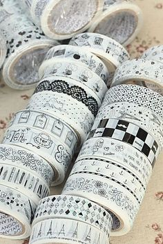 This is really cute printed tape.- 10 pieces as a set (random patterns from 32 patterns)- Weight: 15…