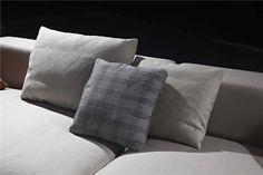 Details of Dash Casa fabric sofa Back cushion and scatter cushion. Scatter Cushions, Throw Pillows, Fabric Sofa, Sofa Design, Sofas, Bed, Modern, Home, Couches
