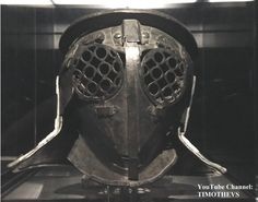 "Learn more about the provocator: https://www.youtube.com/watch?v=n0Ct64vi5tQ&list=PLabDxfGj6LIcG80kg6yLHpm1xVcV_pSdQ&index=3 Bronze provocator helmet: frontal view, Pompeii, 1-79 CE, Gladiator exhibition (""Gladiatoren: Helden van het Colosseum""), Gallo-Romeins Museum, Tongeren (Belgium)."