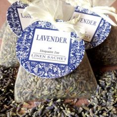 Lavender Sachets #diy #lavender