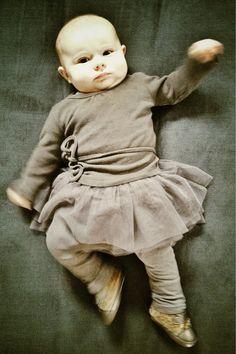 Top DouDou, Bottom H, Shoes Bluemarine Baby