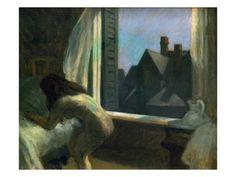 Moonlight Interior Giclee Print by Edward Hopper