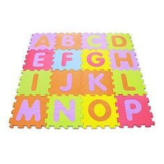 Joint mat combination mat flooring mat baby mat EVA alphabet pattern mat 16 pieces *** For more information, visit image link. (This is an affiliate link and I receive a commission for the sales)