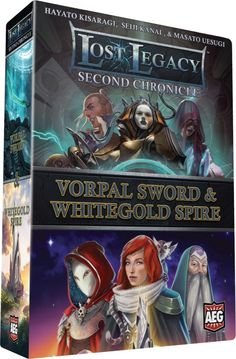 Lost Legacy Second Chronicle Vorpal Sword & Whitegold Spire Card Game Set Set Card Game, Card Games, Vorpal Swords, Legacy Collection, Tabletop Games, I Am Game, Game Night, Battle, Lost
