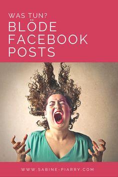Kennst du das? Du schaust auf deine Facebook-Chronik und da hat sich jemand sperrangelweit auf deiner schönen Chronik in Szene gesetzt? Ätzend, deine Chronik als Werbefläche zu missbrauchen, oder? Was ist deine Erfahrung. Sag deine Meinung.