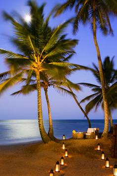 Beach at Zoëtry Agua Punta Cana.