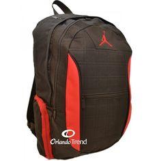 Nike Air Jordan 15 inch Laptop Jumpman Backpack in Black and Red 9A1137-391 for $48.00 at OrlandoTrend.com #Nike #AirJordan #Mochila #Maletin #OrlandoTrend
