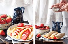 Como hacer Crepes Dulces {paso a paso} - Megasilvita