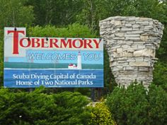 Tobermory, Ontario - Nearby Campgrounds and RV Parks Tobermory Ontario, Manitoulin Island, Capital Of Canada, Rv Parks, Stuff To Do, Kayaking, Places To Travel, Places Ive Been, Road Trip