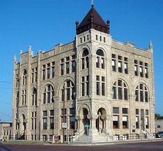 Ness City, Ness County Bank Building, one of the 8 Wonders of Kansas Architecture