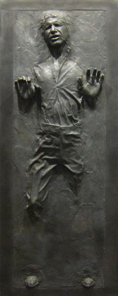 STAR WARS Han Solo In Carbonite Wall Graphic |Geek Decor