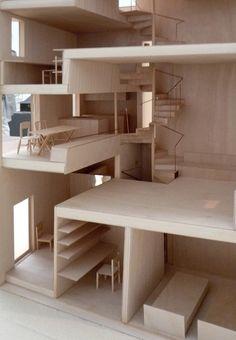 一村的相册-atelier Bow-wow的大模型