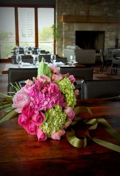 Mothers Day Bouquet with hydrangea, roses, peony, tulip...