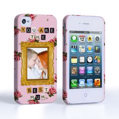 Caseflex iPhone 4 / 4S 'You are the best Mum' Personalised Hard Case – Pink #MothersDay #Pink #Personalised #Personal #PolkaDots #YouAreTheBestMum! #Scrabble #Letters #Typography #Illustration #Frame #Flowers #Holiday #Celebration #Gift #Present #iPhone #Apple #iPhone4S #iPhone4 #Case #Cover #HardCase #PhoneCover