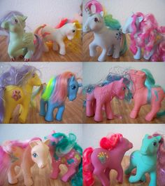80's My Little Pony these ponies were my favorites. they don't make them like they used to.
