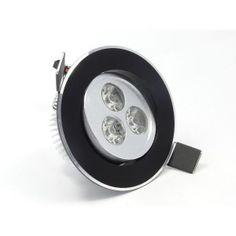 Black LED Downlight