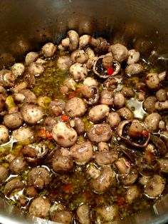 Canning and Cooking---Iowa Style: Canning Pickled Marinated Mushrooms Pickled Mushrooms Recipe, Marinated Mushrooms, Stuffed Mushrooms, Canned Mushrooms, Okra Recipes, Vegetable Recipes, Recipies, Canning Tips, Canning Recipes