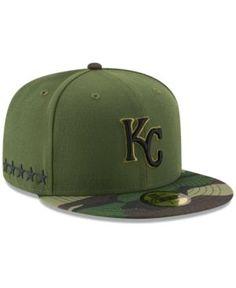 New Era Kansas City Royals Memorial Day 59FIFTY Cap - Green 7 1/4