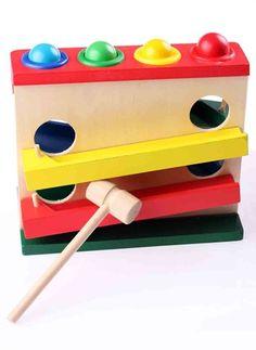 Learning Toys Ahşap Oyuncakları Wooden Four Play Station Renkli | Morhipo.com