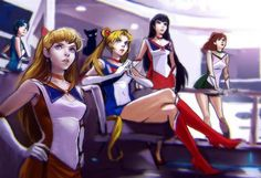 Strawberry Kimono - star-trek: Old Works- Sailor Sketch by BeaGifted Sailor Moon Sailor Stars, Sailor Jupiter, Sailor Venus, Sailor Moon Fan Art, Sailor Pluto, Sailor Neptune, Sailor Moon Cosplay, Sailor Scouts, Tuxedo Mask