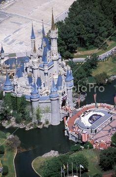 Disney Castles --- disney world florida