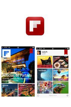 Flipboard. Flipboard  Categoría: noticias, actualidad  Disponibilidad: Android, Apple  Bienvenido a una revista personalizada con todo el contenido que comparten tus amigos. Puedes ver actualizaciones de Facebook, blogs, tweets de tus amigos, recomendaciones en YouTube y muchas cosas más.