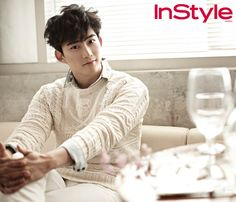 Taecyeon - InStyle Magazine August Issue '14
