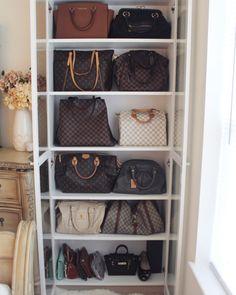 IKEA Hack   Handbag storage | For the Home | Pinterest | Handbag