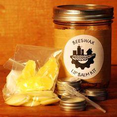 Beeswax Lip Balm Kit