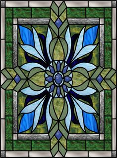 Dirago-J Faux Privacy Stained Glass Clings and Window Films