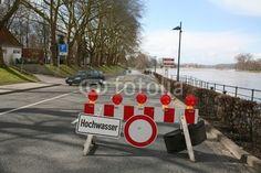 Hochwasser-Sperre