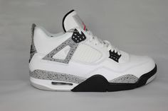 Jordan Retro 4, Jordan 4, Cement, Me Too Shoes, Air Jordans, Kicks, Nike Air, Sneakers Nike, Heels