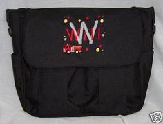 Fireman Firefighter Diaper Bag Personalized Baby Tote   eBay