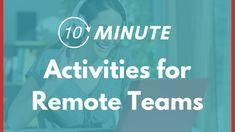 8 Team Building Activities to Connect Your Remote Teams - Better Teams Simple Team Building Activities, Teamwork Activities, Team Building Games, Movement Activities, Building Ideas, Physical Education Games, Health Education, Character Education, Ice Breakers For Work