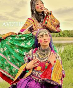 afghani #dress #style #afghan #jewelry