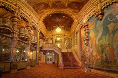 The Landmark Theater, downtown Syracuse..... I finally found this gorgeous picture of our Beautiful Landmark Theater. I helped restore it, as we almost lost it, which would have been such a tragedy.   B.