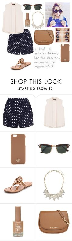 """""""What a set,without a quote?¿"""" by madisonpeters00 on Polyvore featuring Zizzi, MANGO, Tory Burch, Ray-Ban, Miss Selfridge, New Look, MICHAEL Michael Kors and She's So"""