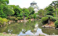 Osaka Castle Japanese Garden