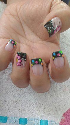 Magic Nails, Nail Art Designs, Amanda, Beauty, Projects, Finger Nails, Amor, Nail Art Tutorials, Yellow Nails