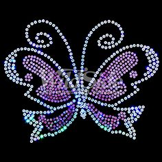 Pink Sequin Butterfly | The Wild Side