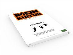 Gestaltung der Pressemappe RhEINKULTUR 2011