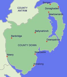 County_Down_Map