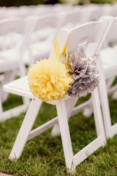 Décoration de mariage jaune - http://www.mariageenvogue.fr/blog/index/billet/10780_decoration-mariage-jaune