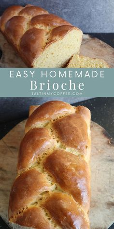 Delicious Breakfast Recipes, Yummy Food, Traditional Bread Recipe, Fruit Leather Recipe, Homemade Brioche, No Yeast Bread, Strawberry Breakfast, Dry Yeast, Quick Easy Meals